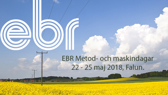 "Hughes Power System will participate in EBR exhibition ""Method and Machine days"" on 22-25th May, 2018, Falun, Sweden."
