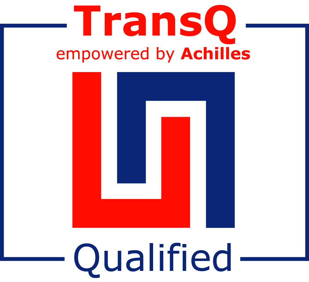 Hughes Power System is registered as a supplier in TransQ Pre-Qualification System