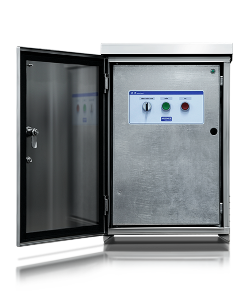 Hughes Power System control cabinets for Vacuum breaker modules
